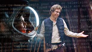 Han Solo eredetileg zöld bőrű, kopoltyús jedi volt