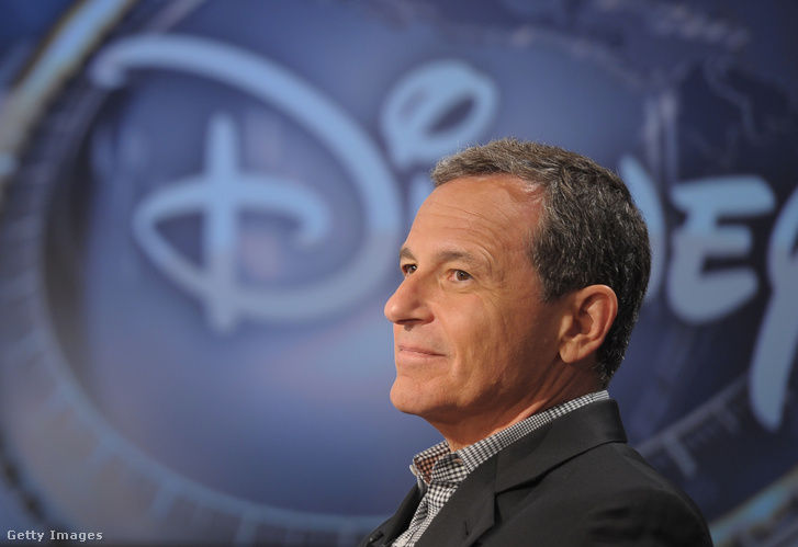 Robert Iger, a Disney vezérigazgatója