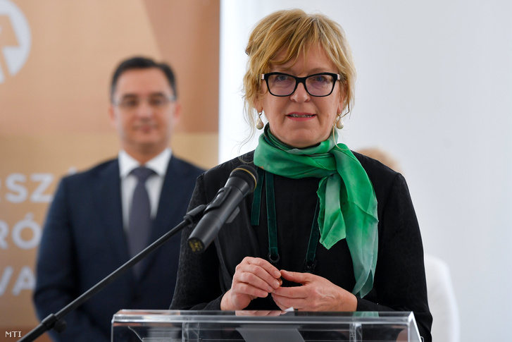 Handó Tünde, az Országos Bírósági Hivatal (OBH) elnöke