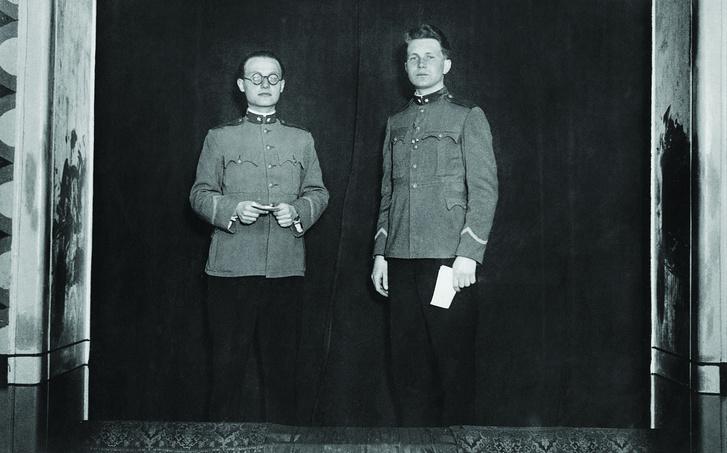 Szobotka Tibor (balra)