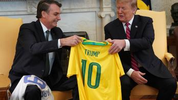 Trump felvenné a NATO-ba Brazíliát