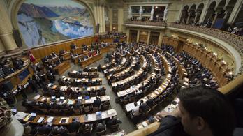 Külföldi terroristák kiutasítását megengedő indítványt  fogadott el a svájci parlament