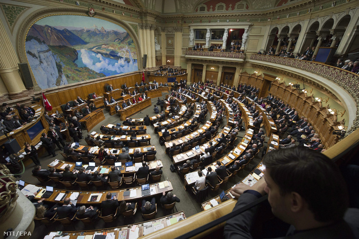 A berni parlament ülésterme