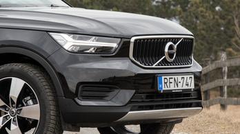 Teszt: Volvo XC40 T3 Momentum - 2019.