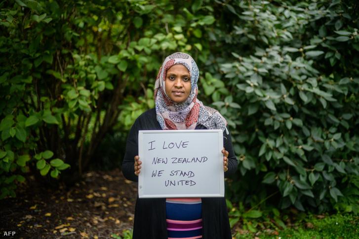 Zeynia Endrise férjét meglőtték Christchurch-ben, közel a kórházhoz azt üzente: egységesek vagyunk