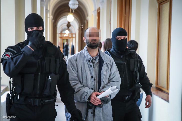Ahmed H. a bíróságon 2019. január 17-én