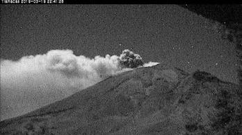 Kitört a Popocatépetl