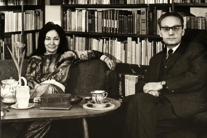 Szabó Magda és Szobotka Tibor