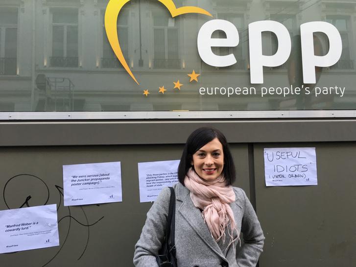 Dr. Cseh Katalin, a Momentum EP-listájának vezetője