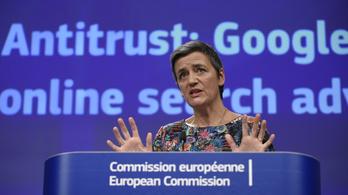 Újabb gigabírságot kapott a Google az EU-tól, most 1,5 milliárd eurót kell befizetniük