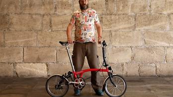 Mit tudhat egy 400 ezres összecsukható bicikli?