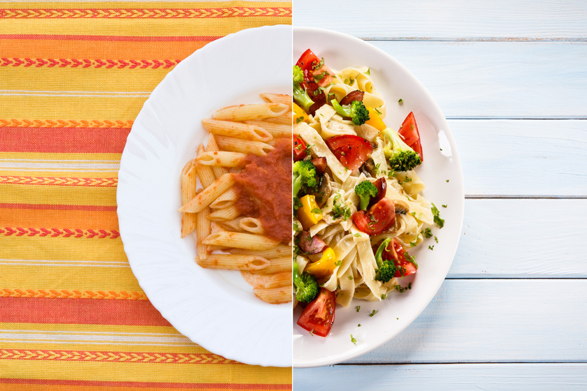 Így egyél többet kevesebb kalóriából: ugyanolyan finom marad, csak nem hizlal