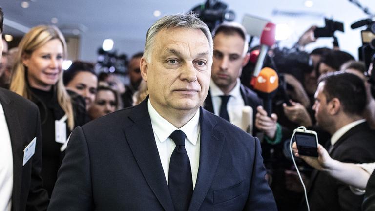 Orbán: Majd meglátjuk, beülünk-e a Néppárt frakciójába