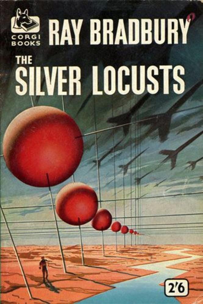 Ray Bradbury: Marsbéli krónikák.                         Az emberiség a pusztulás szélén álló világát elhagyva a Marsra költözik