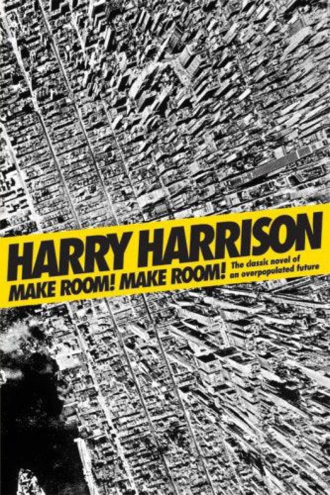 Harry Harrison: Helyet! Helyet!                         Egy párhuzamos univerzum 1999-ének New Yorkjában emberpróbáló az élet a környezetszennyezés és a túlnépesedés miatt
