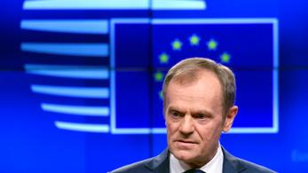 Tusk a brexitről: Akkor lehetséges rövid hosszabbítás, ha a britek megszavazzák a megállapodást