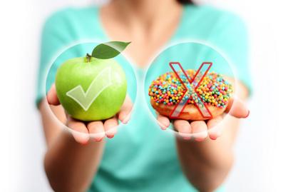 egészséges diéta alma cukor édesség