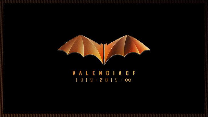 A Valencia centenáriumi logója.