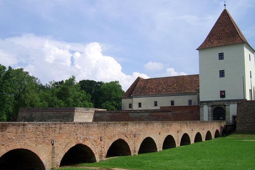 A sárvári Nádasdy-vár napjainkban.
