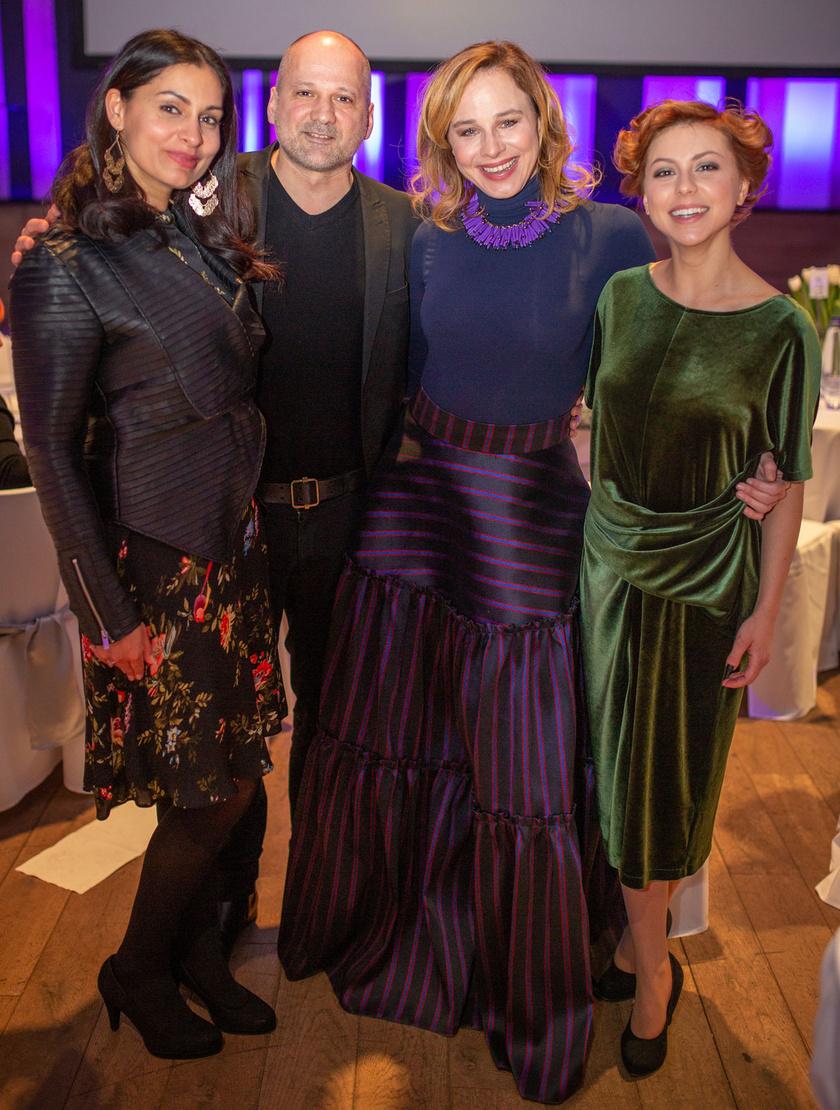 Danis Lívia, Thuróczy Szabolcs, Ónodi Eszter és Döbrösi Laura.