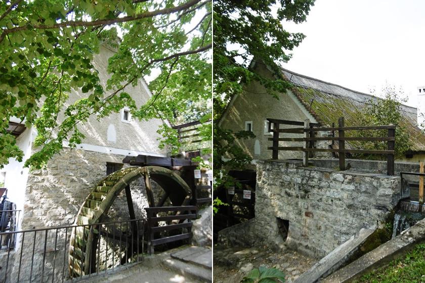A Balaton-felvidék egyik legszebb ipartörténeti emléke egy kétszáz fős kis falucskában, Örvényesen található. A ma is működő vízimalom a Pécsely-patak energiáját hasznosítja, de már 1055-ben is működő malomnak számított. Jelenlegi formáját az 1800-as években kapta. Ma gazdag néprajzi, népművészeti kiállításnak is helyet ad.
