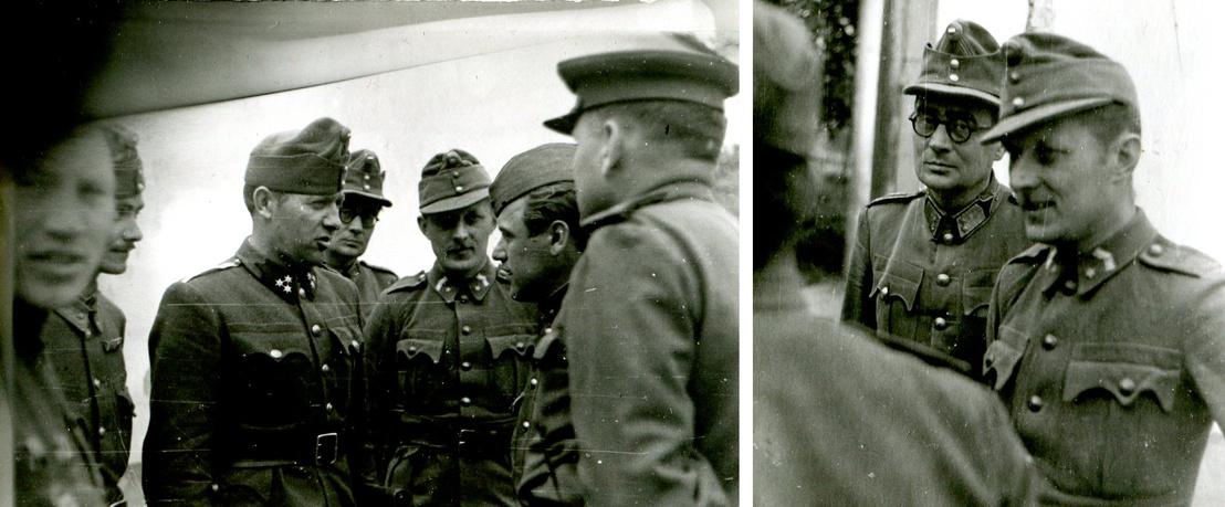 A fotók egy ismeretlen, eddig beazonosíthatatlan magyar fegyverszüneti delegáció tagjait mutatják 1944. október 15-én.