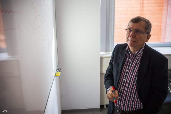 Rácz Zoltán, a Fizikai Tudományok Osztályának elnöke