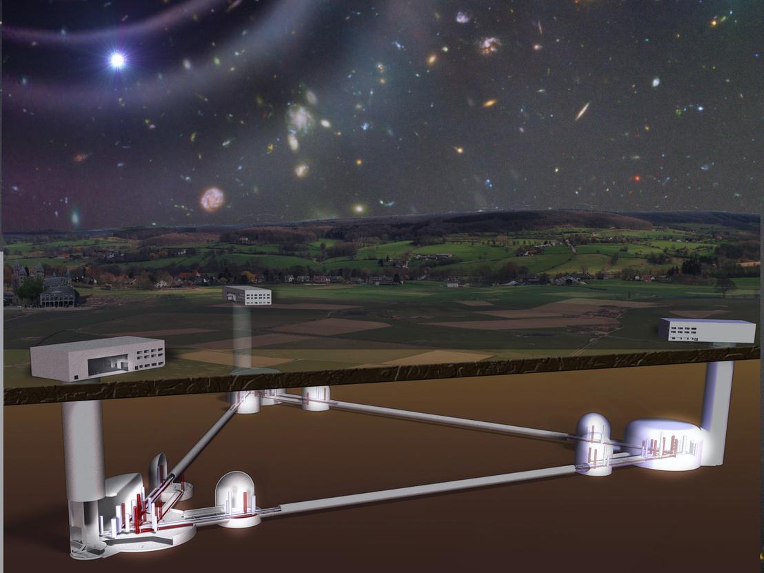 Az Eistein-teleszkóp koncepcióterve