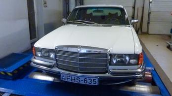 Totalcar Erőmérő: Mercedes 280 SE W116 – 1977.