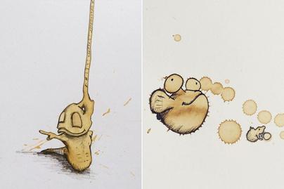 kávéfolt rajz 840
