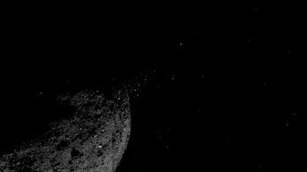 Részecskekilökődést észlelt a NASA a legveszélyesebbnek tartott kisbolygón