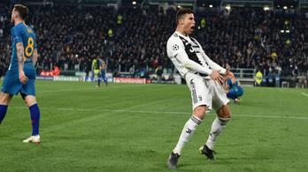 Ronaldót megbüntette az UEFA az Atlético elleni obszcén mutogatásért