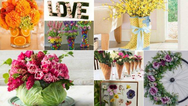 Tavaszköszöntő csodálatos virágdekorációk