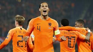 Hollandia gálázva nyert, Horvátország megszenvedett Azerbajdzsán ellen