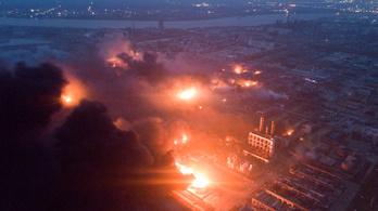 Az űrből is látszott a kínai vegyi üzem robbanása