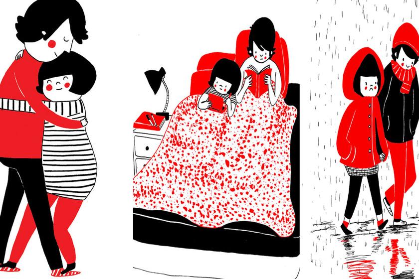 10 meghitt illusztráció: miről beszélget két szerelmes lefekvés után?