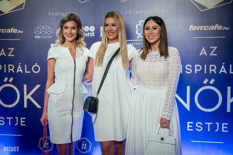 Ahogy azt ígértük: itt vannak az Inspiráló Nők estjének további hírességei, mert azért nem csak Sarka Katáról, Rogán Cecíliáról és Orbán Ráhelről szólt a gála, ugyebár.