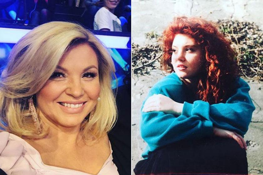Liptai Claudia napjainkban és 17 éves korában. Óriási a különbség.