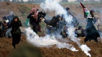 Határozatban ítélte el Izraelt az ENSZ, amiért erőszakot alkalmaznak a palesztin tüntetők ellen