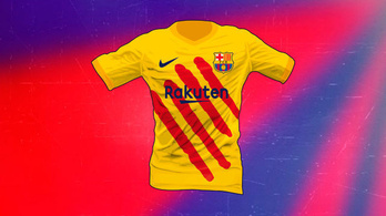 Tényleg kockás lesz a Barca-mez, de egy váltótrikó kárpótolhat