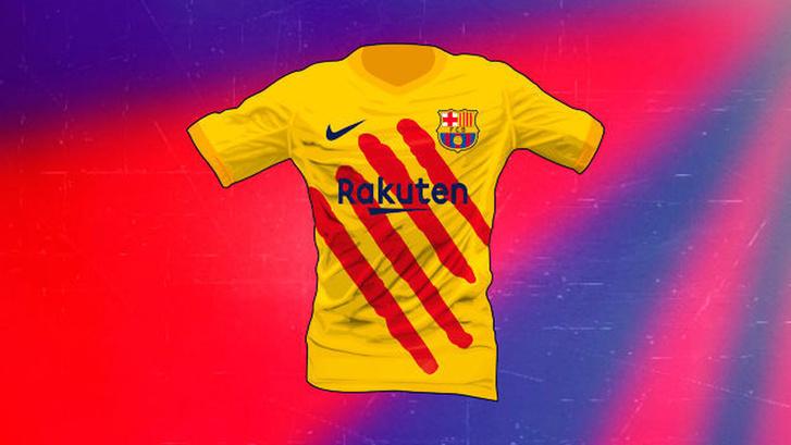 A 4. számú Barca-mez