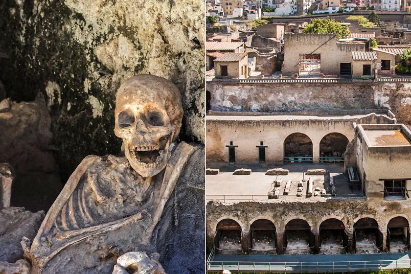 400 °C-os láva ömlött a városra, 1700 évre konzerválta Herculaneumot