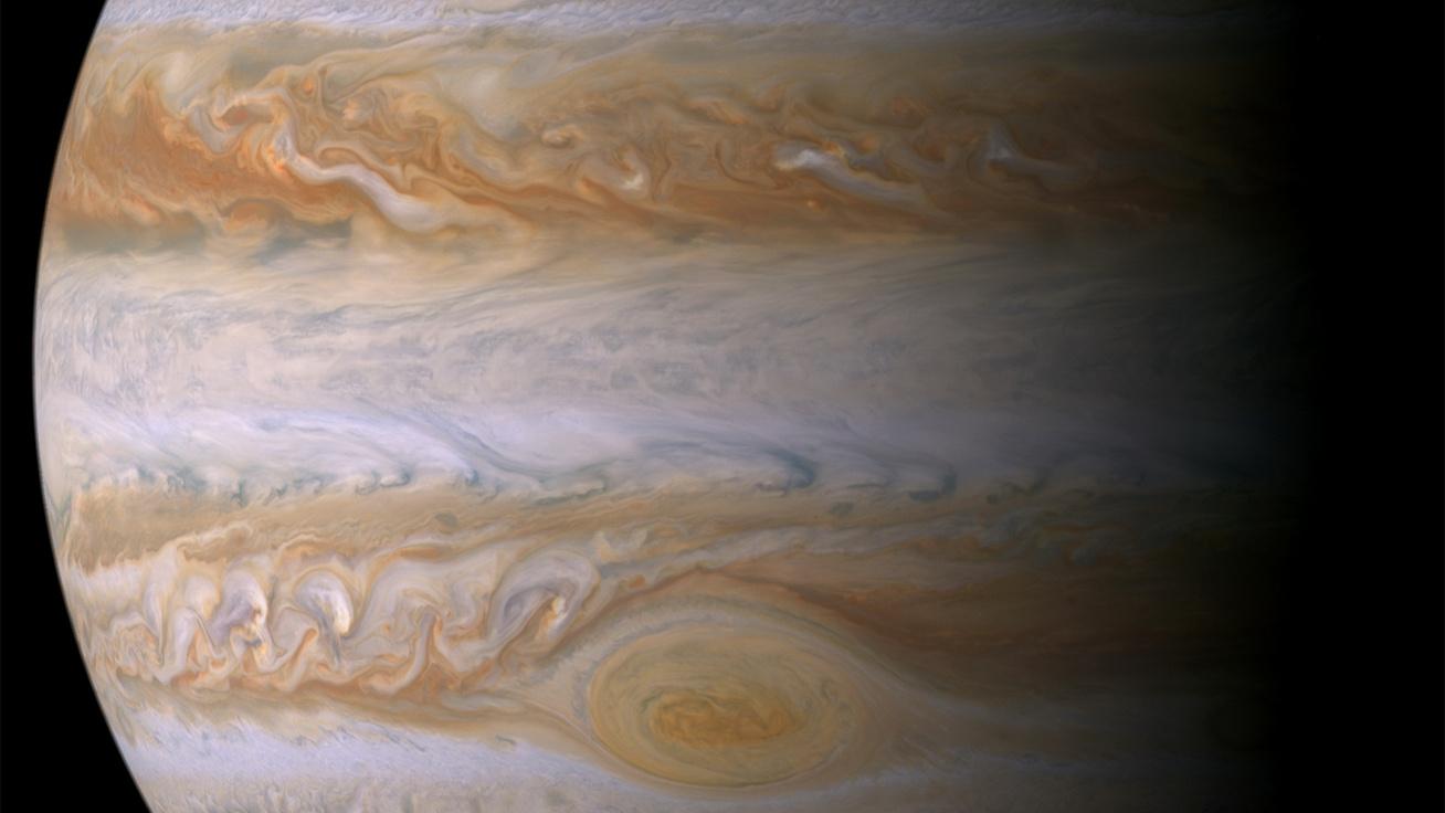 Bámulatos fotón az űrben dúló vihar: ilyen szép képet még nem láthattunk róla