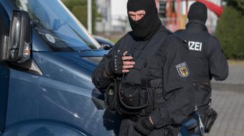 Terrortámadás előkészítésének gyanúja miatt tizenegy embert vettek őrizetbe Németországban