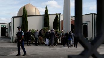 Újranyitott a mecset, ahol több mint negyven embert ölt meg az új-zélandi terrorista