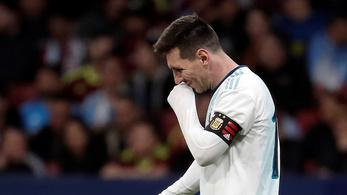 Hiába tért vissza Messi, Argentína simán kikapott Venezuelától