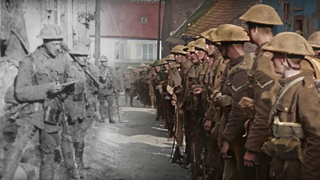 Megelevenedik az első világháború