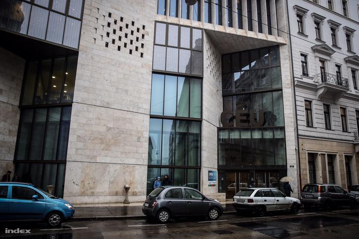 A CEU (Central-European University) V. kerületi Nádor utcai épülete