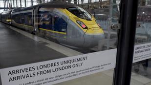 Rendezetlen brexit esetén sem állnak le a vonatok