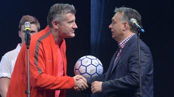 A horvát futballelnök reméli, hogy országa példát vesz Magyarországról